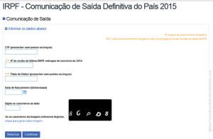 Formulario CSDP 2015