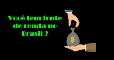 Como declarar os rendimentos do Brasil