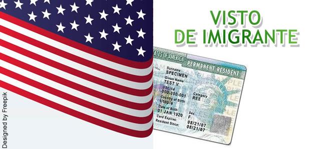 Visto de Imigrante EUA