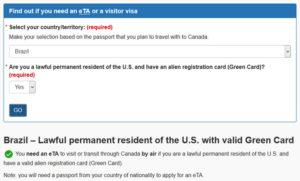 Visto Canadense não será mais exigido para portadores do Green Card
