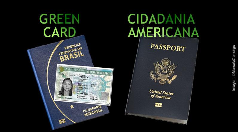 Diferença entre Cidadania Americana e Residência Permanente (Green Card)