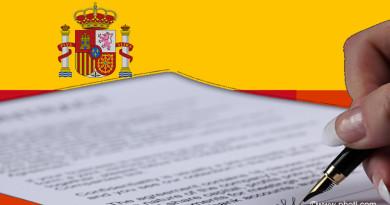 Carta convite necessária para quem quer viajar para Espanha