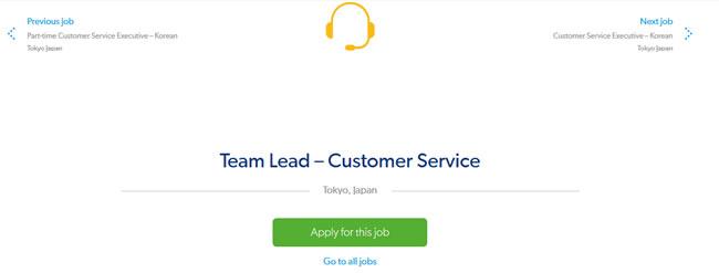 Candidatar-se a um emprego na Booking.com