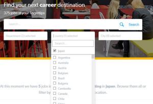 Busca de emprego na Booking.com por país