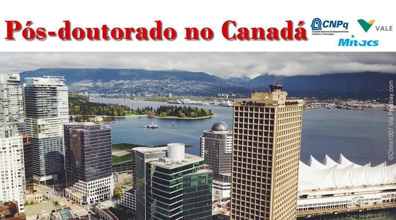 Bolsa de Pós-doutorado no Canadá