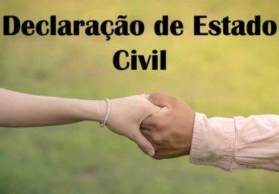 Declaração de Estado Civil: como obter este documento?