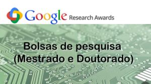 Bolsas de Pesquisa Google para pesquisadores da América Latina
