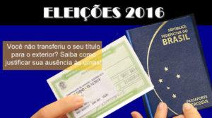 Eleições 2016: não esqueça da justificativa eleitoral