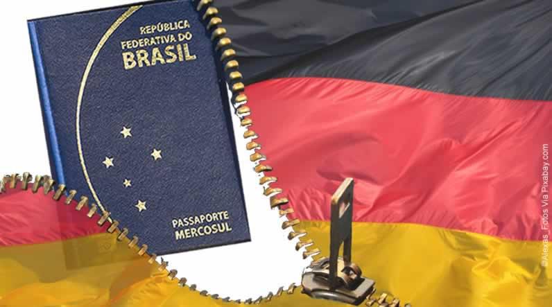 Alemanha exige visto de brasileiros em viagem de longa duração