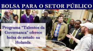 Bolsa de estudos na área de Governança (Setor Público)