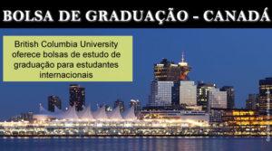Estudar no Exterior: bolsa de graduação no Canadá