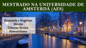 Bolsas de estudo na Universidade de Amsterdã