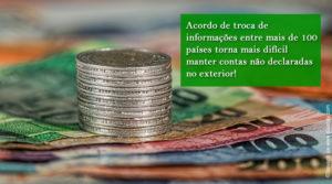 Acordo internacional prevê troca de informação tributária entre mais de 100 países