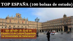 Top España: bolsas de estudo na Univ. de Salamanca