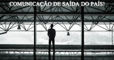 Comunicação de Saída Definitiva do País 2016