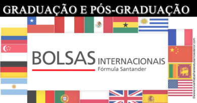 Intercâmbio no Exterior: Fórmula Santander oferece bolsas para estudantes de graduação e de pós-graduação